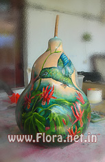 Painting on Gourd