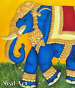 Elephant using M-Seal